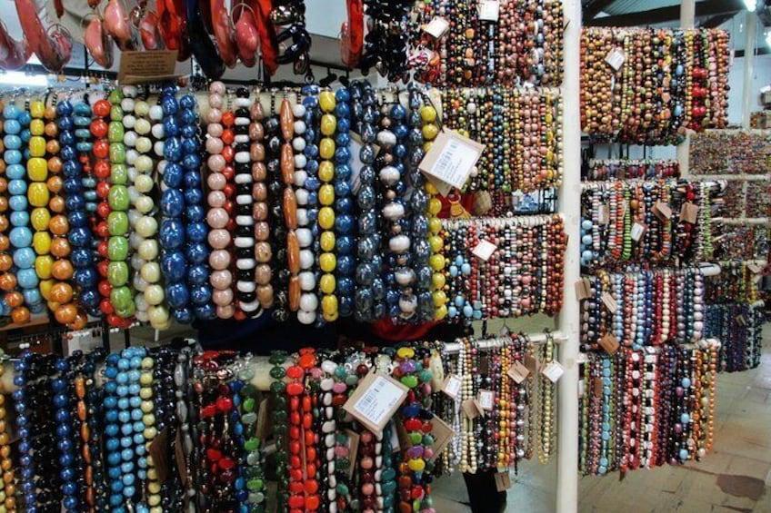 See the beautiful beads at Kazuri