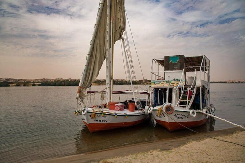 Show item 6 of 6. 1-Hour Felucca Boat Ride on the Nile River from Cairo