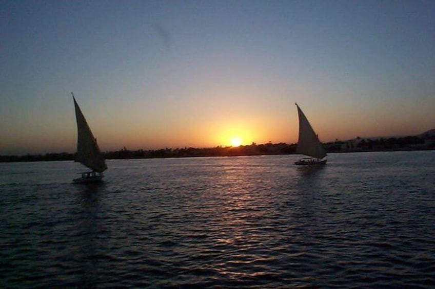 Show item 2 of 6. 1-Hour Felucca Boat Ride on the Nile River from Cairo
