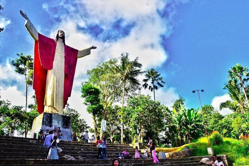 Show item 4 of 9. Kamay Ni Hesus and Nagcarlan Church from Manila (Private Tour)