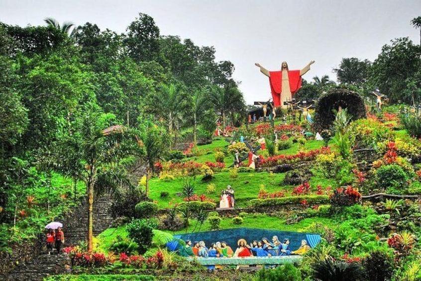 Show item 1 of 9. Kamay Ni Hesus and Nagcarlan Church from Manila