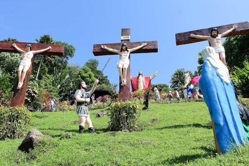 Show item 3 of 9. Kamay Ni Hesus and Nagcarlan Church from Manila (Private Tour)