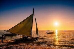 Boracay Paraw Sailing Sunset