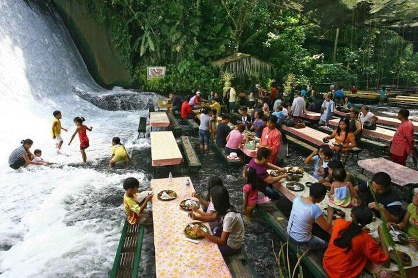 Show item 4 of 7. VILLA ESCUDERO DAY TOUR with Carabao Cart Ride and Bamboo from Manila