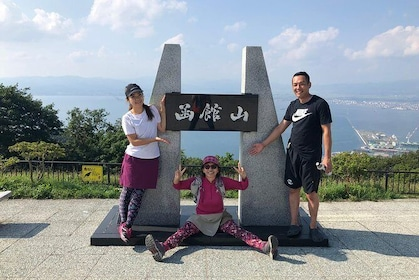 Hiking tour to historic and hidden fortresses at Mt. Hakodate!