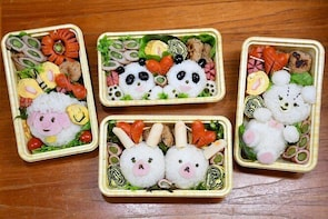 Let's make traditional and cute character lunch box!!