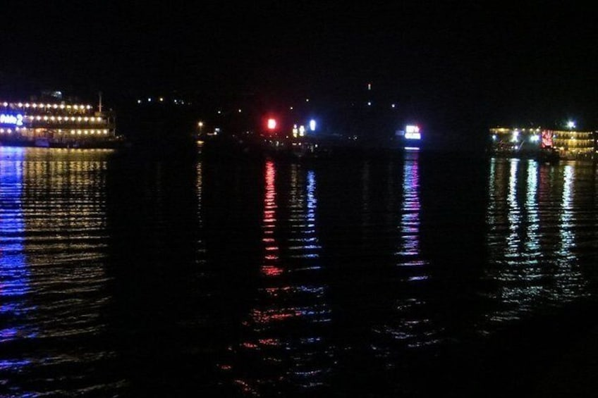 Goa at Night - Sightseeing, Cruise and Dinner Onboard