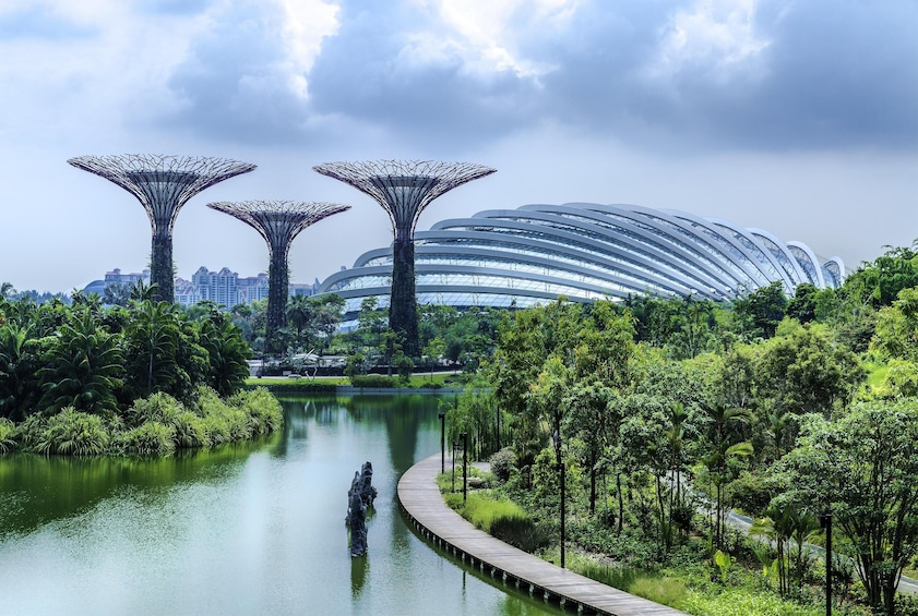 Show item 4 of 5. Gardens by the Bay