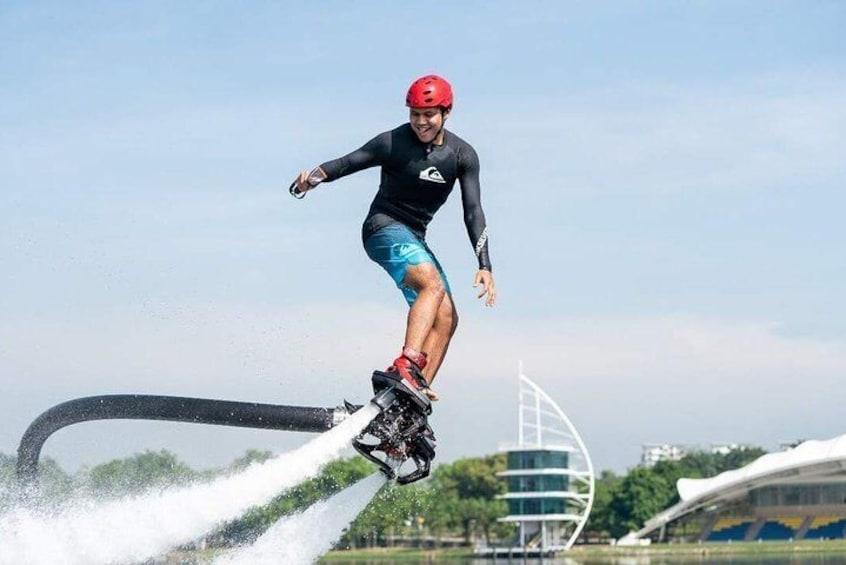 Flyboarding Experience at Marina Putrajaya