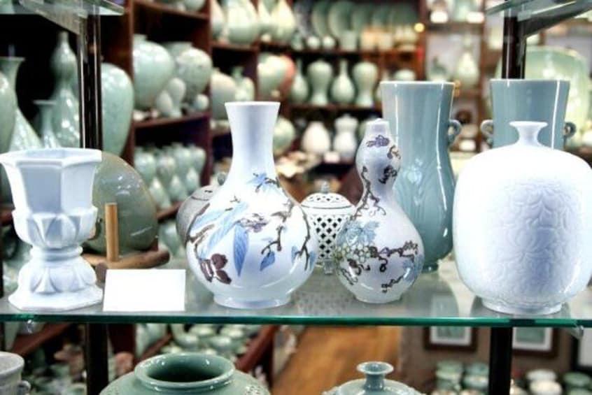 Ceramic Store in Insadong