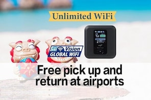 Japan 4G LTE Unlimited WiFi Hotspot Hire at Naha Airport