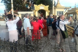 From Yangon: Full Day Excursion to Golden Rock