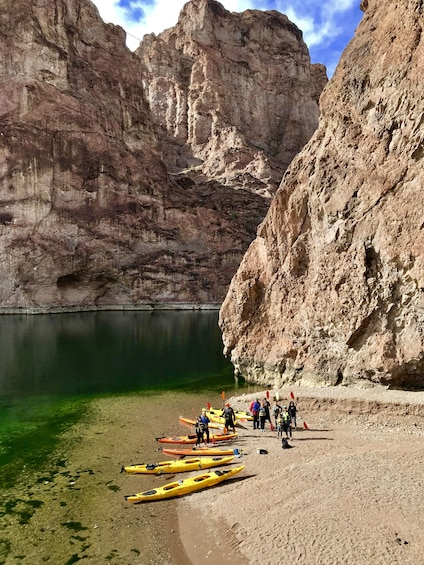 Show item 3 of 9. Hoover Dam Kayaking Tour on Colorado River