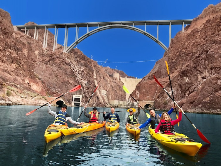 Show item 1 of 9. Hoover Dam Kayaking Tour on Colorado River