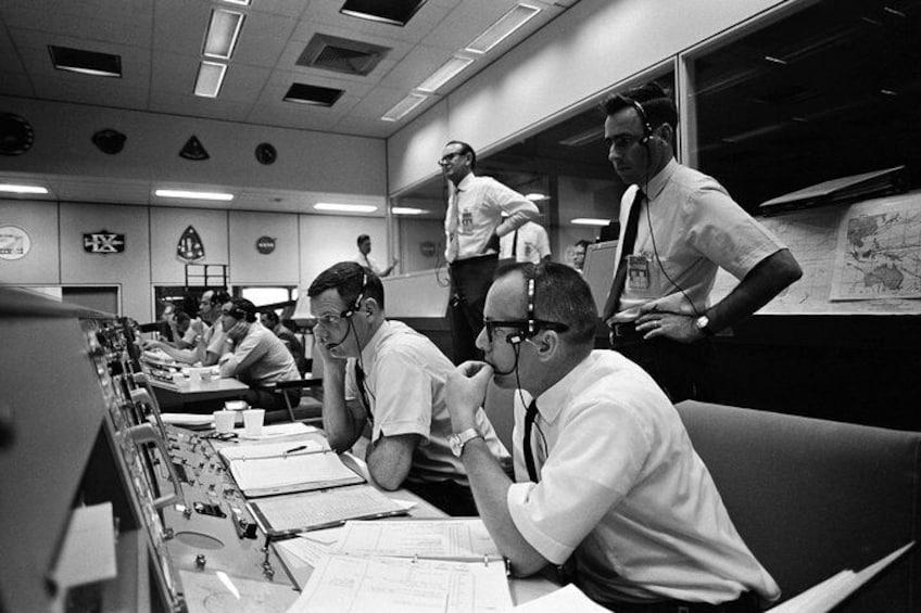 Explore Historic Mission Control