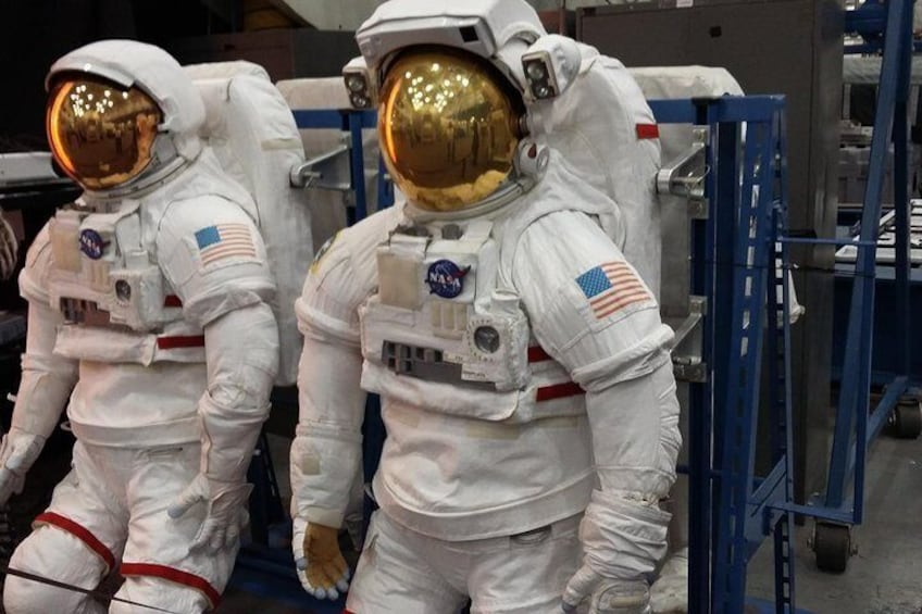 Show item 4 of 28. Space suits