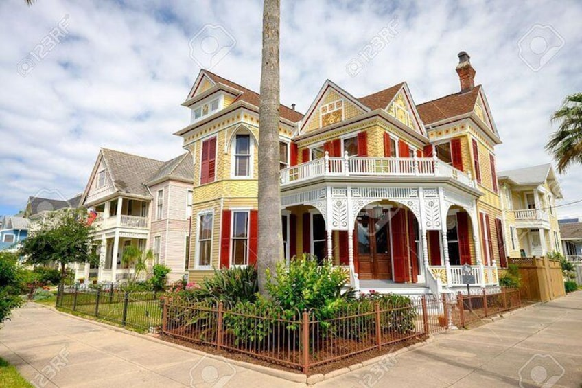 Amazing historic homes.