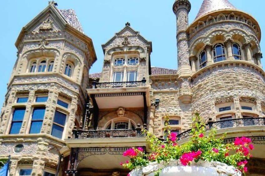 Unique architecture.