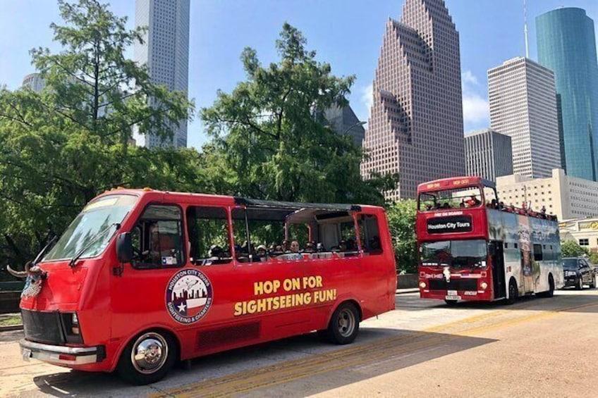 Houston's Official Hop on-Hop off Tour!