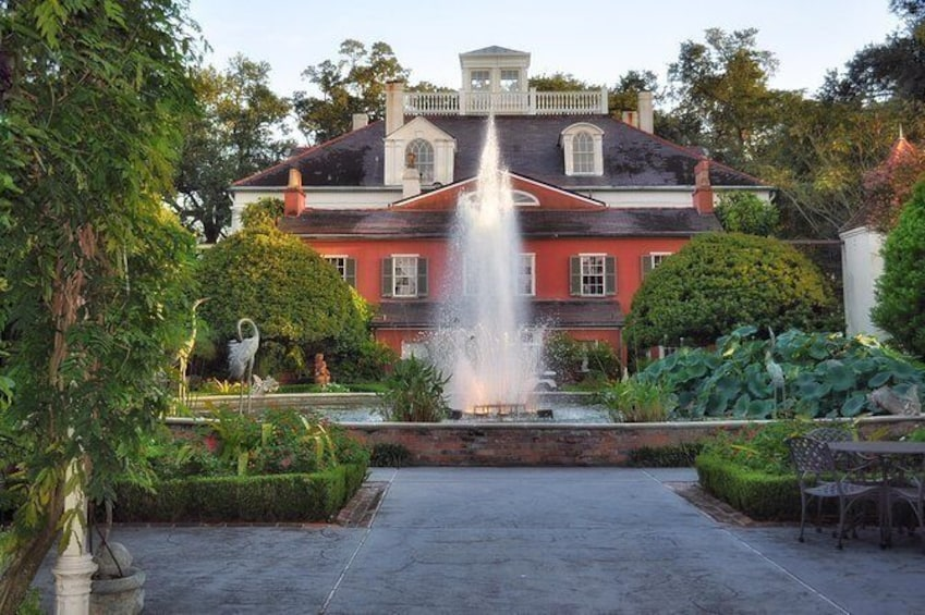 Show item 4 of 10. 1774 French House with fountain