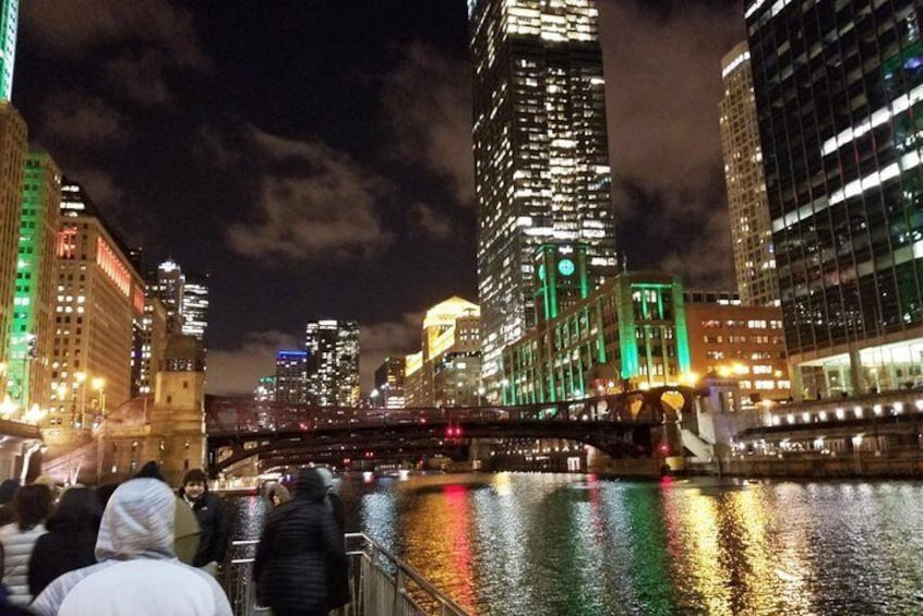 Show item 2 of 7. Chicago River Walk Ghosts
