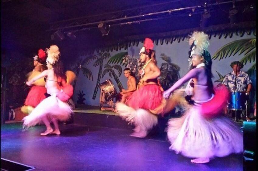 Show item 5 of 6. Skip the Line: Polynesian Fire Luau and Dinner Show Ticket at the Hawaiian Inn