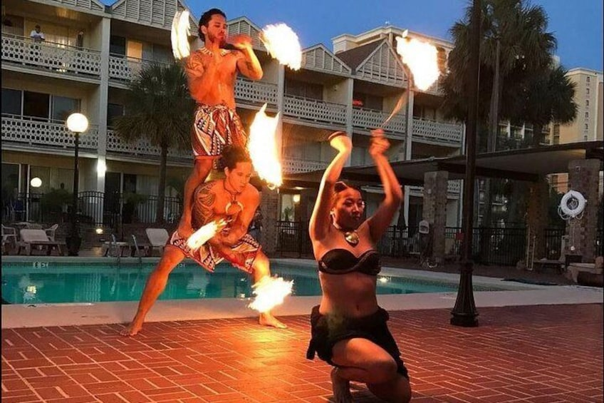 Ticket to Polynesian Fire and Dinner Show in Daytona Beach