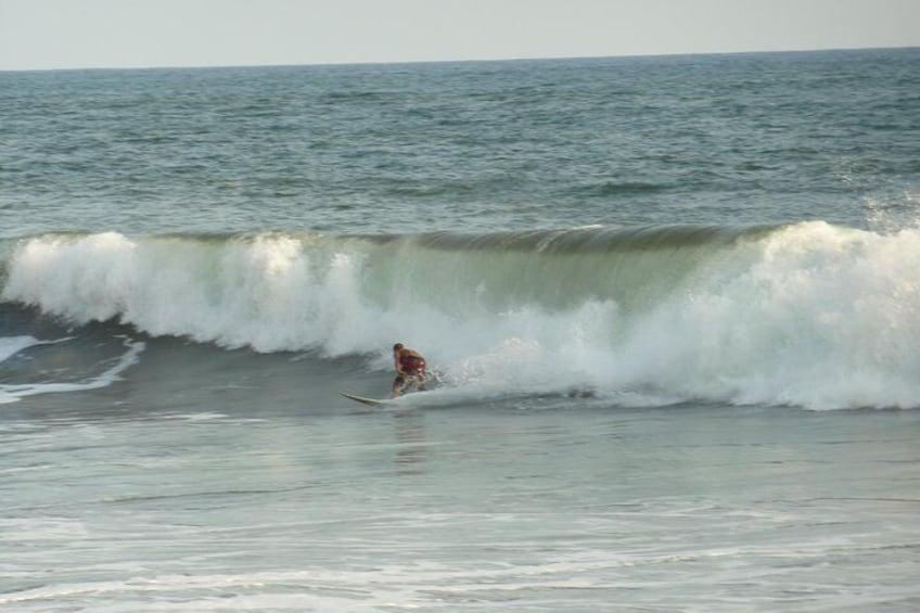 Show item 3 of 8. Surfer at el tunco