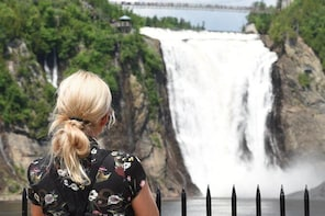 Half-Day Trip to Montmorency Falls and Ste-Anne-de-Beaupré from Quebec city