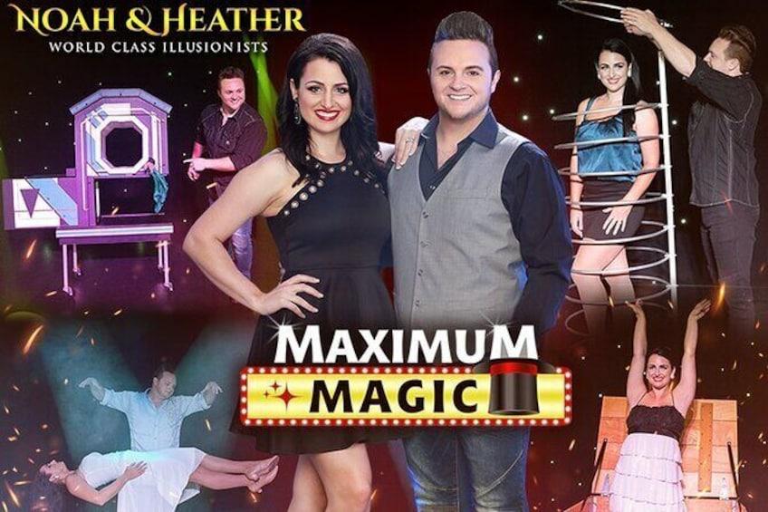 Show item 1 of 14. The Maximum Magic Show Admission Ticket