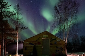 Intimate Aurora Tours Cosy Cabin Bucket List