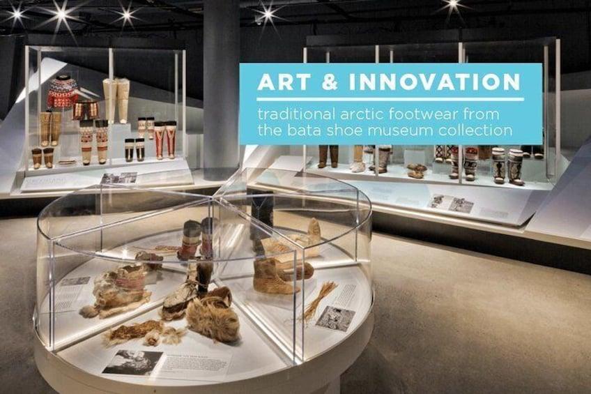 Show item 3 of 7. Skip the Line: Bata Shoe Museum Admission Ticket