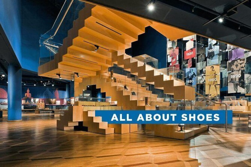 Show item 5 of 6. Skip the Line: Bata Shoe Museum Admission Ticket