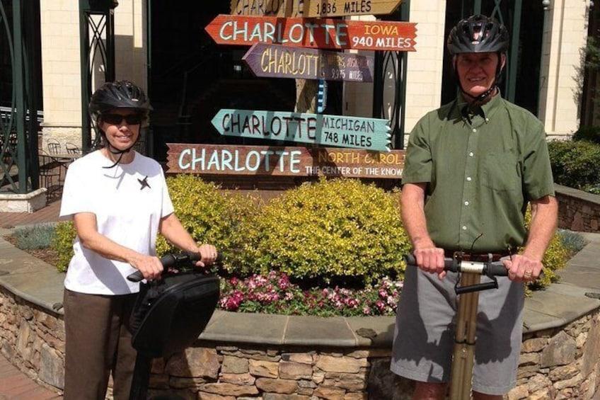 Charlotte Segway Tour