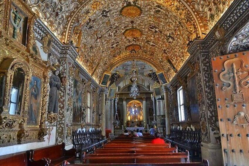 Show item 3 of 7. Day Trip to Mitla, Tule, Mezcal,Teotitlan del Valle and Capilla de los espejos