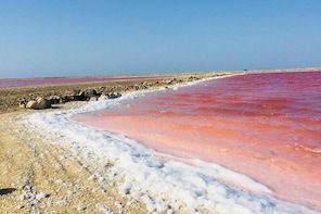 Pink Sea and Mud Volcano