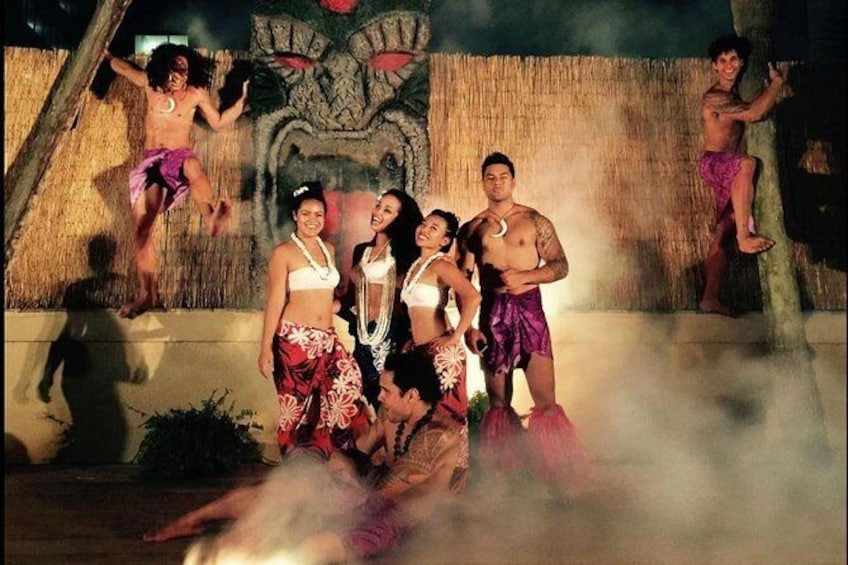 Show item 2 of 6. Skip the Line: Polynesian Fire Luau and Dinner Show Ticket in Myrtle Beach
