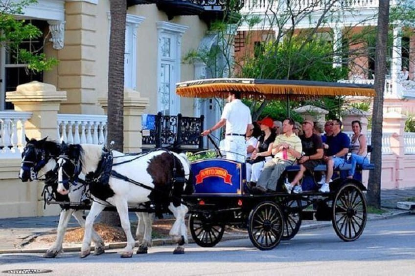 Charleston Sightseeing Day Trip with Lunch from Myrtle Beach