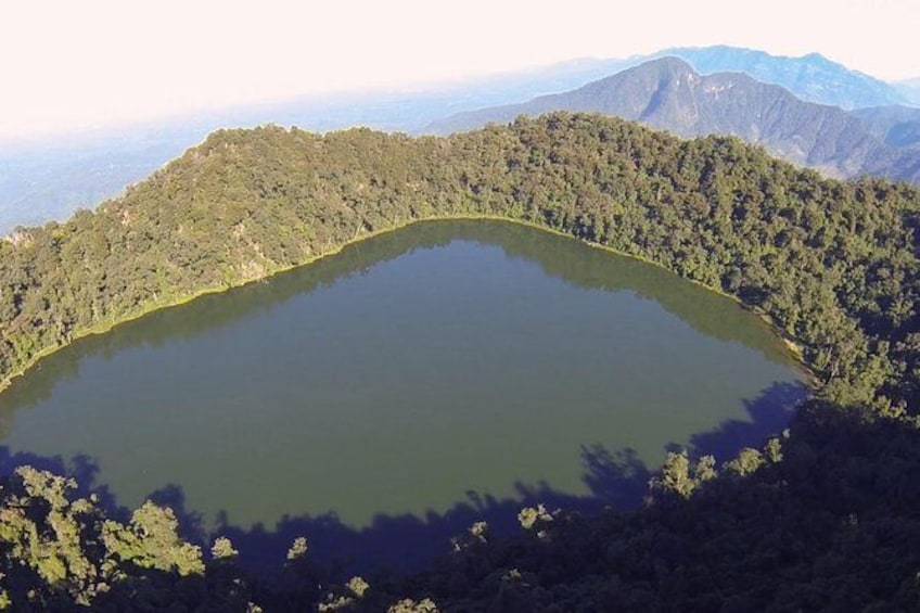 Show item 1 of 2. Trek to Chicabal Volcano and Lagoon