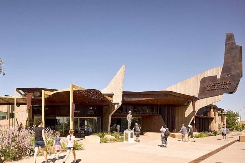 Visit the new, purpose designed Waltzing Matilda Centre