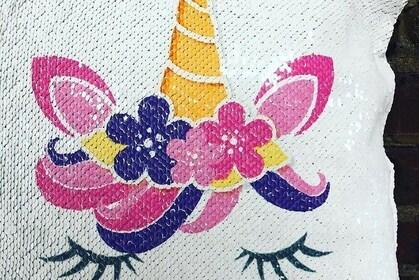 Design Your Own Flip Sequin Pillow