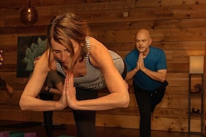 Yoga class in our welcoming downtown studio