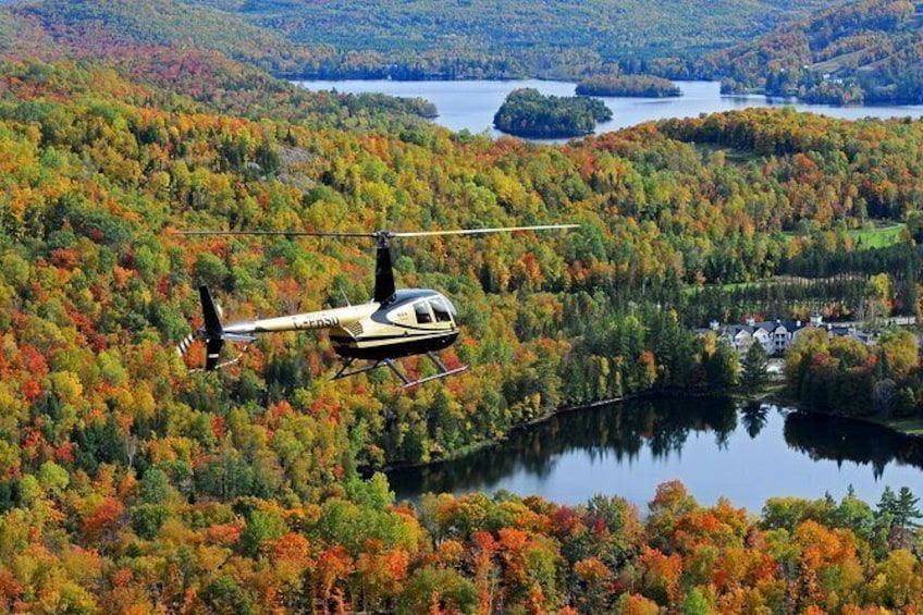 Show item 1 of 4. Mont-Tremblant Helicopter Tours