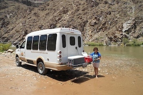 Inner Canyon River tour to the Bottom of Grand Canyon from Williams or Flag...