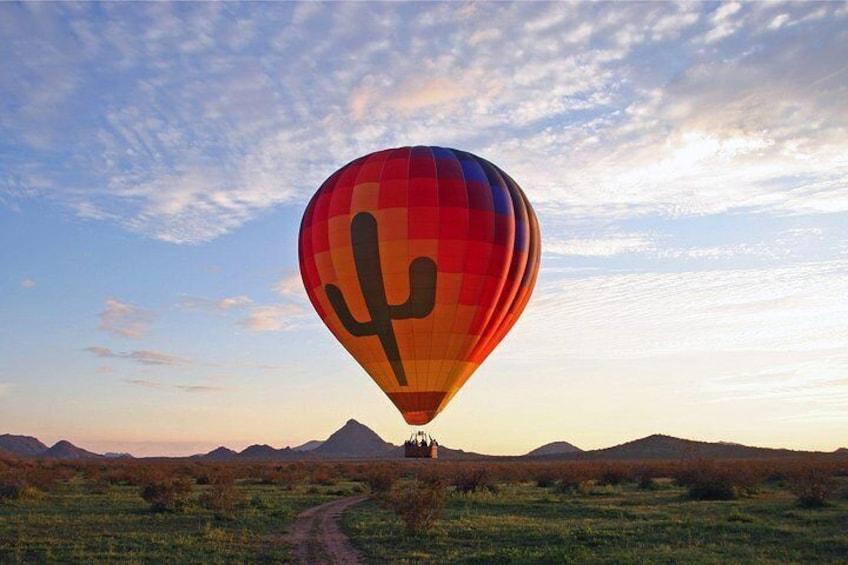 Morning Hot Air Balloon Flight Over Phoenix