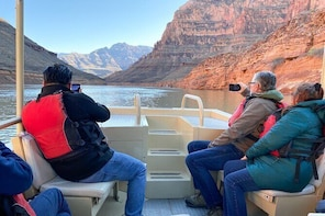 Grand Canyon West Helicopter Tour wit...