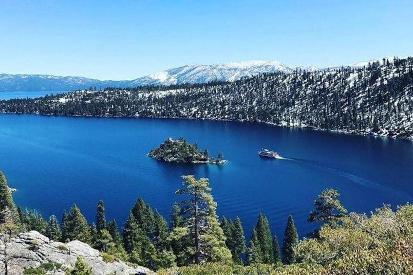 Show item 6 of 6. Lake Tahoe's Emerald Bay Cruise on M.S. Dixie II
