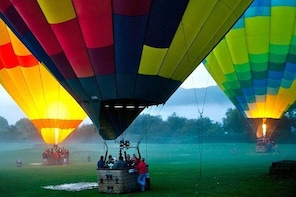Napa Valley Hot-Air-Balloon Ride with Sparkling Wine Toast