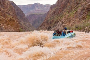 Self-Drive 1-Day Grand Canyon Whitewater Rafting Tour