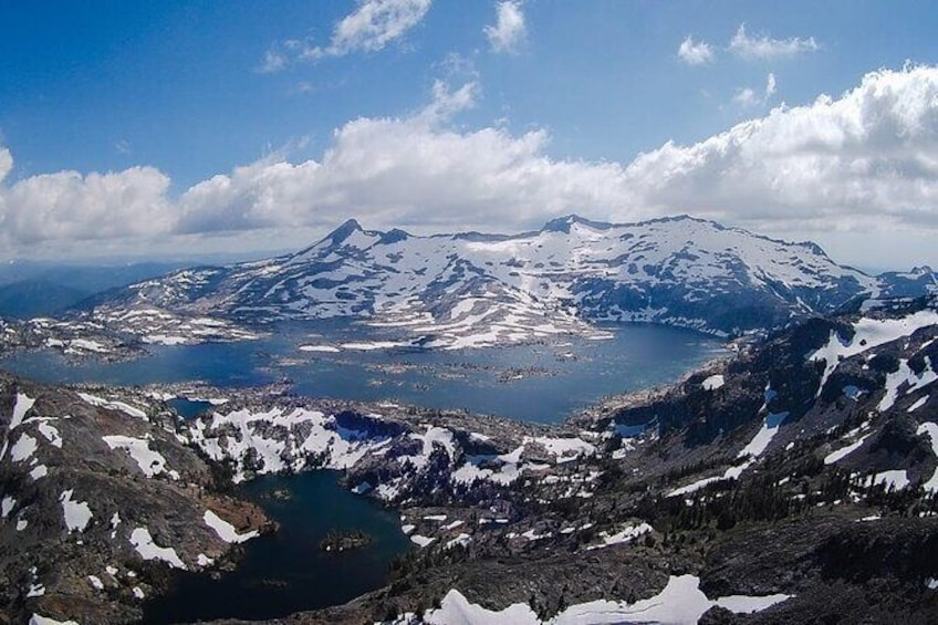 Tahoe Helicopter Tour: Lakes and Waterfalls